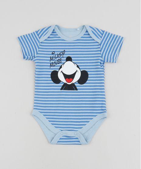 Body-Infantil-Mickey-Listrado-Manga-Curta-Azul-Claro-9839866-Azul_Claro_1