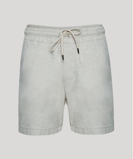 Bermuda-Masculina-Reta--Cos-com-Elastico-Off-White-9941826-Off_White_1