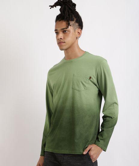 Camiseta-Masculina-Degrade-Dip-Dye-Manga-Longa-Gola-Careca-Verde-9952395-Verde_1