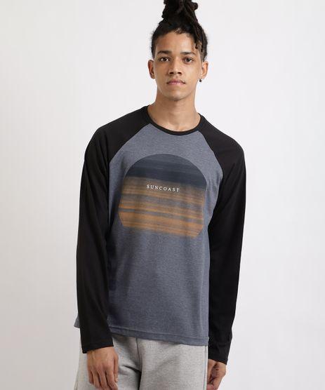 Camiseta-Masculina--Suncoast--Raglan-Manga-Longa-Gola-Careca-Azul-9960002-Azul_1
