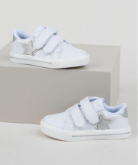 Tenis-Infantil-Baby-Club-Esportivo-com-Velcro-Branco-9959584-Branco_1