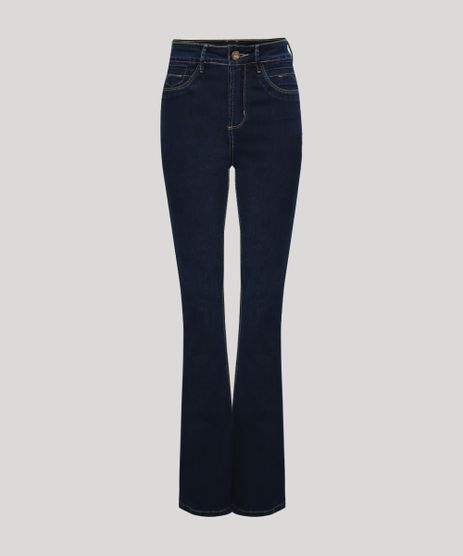Calca-Jeans-Feminina-Sawary-Boot-Cut-Push-up-Cintura-Alta-Azul-Escuro-9963071-Azul_Escuro_1