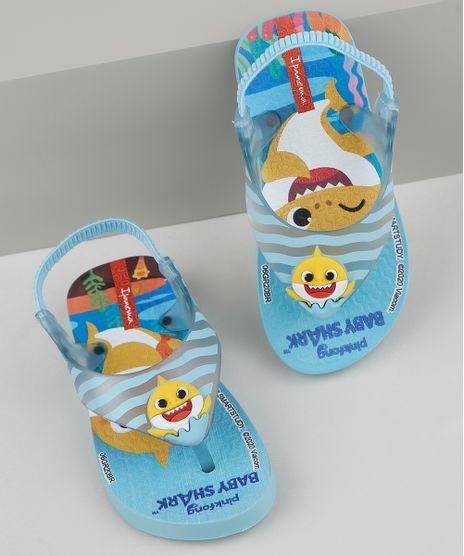 Chinelo-Infantil-Ipanema-Baby-Shark-Estampado-com-Elastico-Azul-9954732-Azul_1
