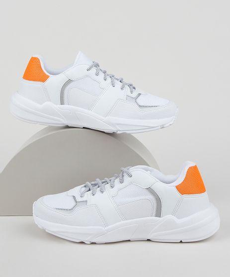 Tenis-Masculino-Oneself-Sneaker-Chunky-com-Recortes-Branco-9958486-Branco_1