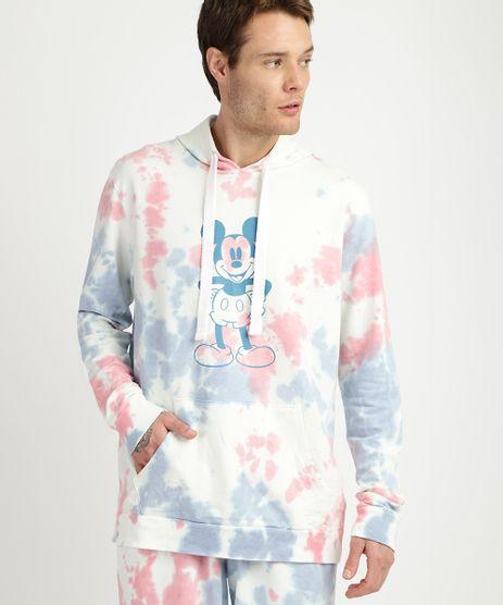 Blusao-de-Moletom-Masculino-Mickey-Estampado-Tie-Dye-Com-Bolso-E-Capuz-Azul-9956181-Azul_1