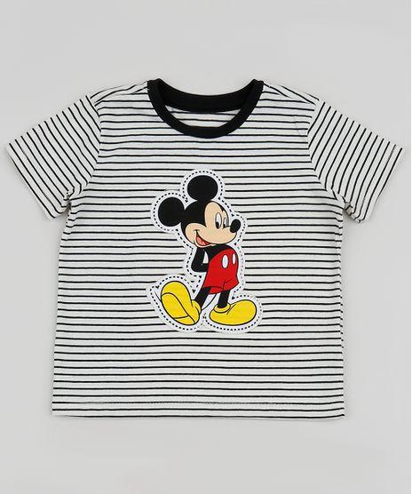 Camiseta-Infantil-Mickey-Listrada-Manga-Curta-Off-White-9954124-Off_White_1