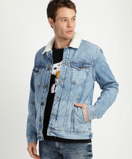 Jaqueta-Jeans-Masculina-Trucker-com-Pelo-Azul-9956499-Azul_1