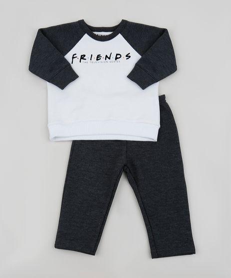 Conjunto-de-Moletom-Infantil-Friends-Camiseta-Manga-Longa-Off-White---Calca-Cinza-Mescla-Escuro-9958072-Cinza_Mescla_Escuro_1