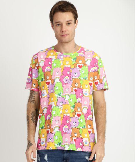Camiseta-Masculina-Ursinhos-Carinhosos-Manga-Curta-Gola-Branca-9957592-Branco_1