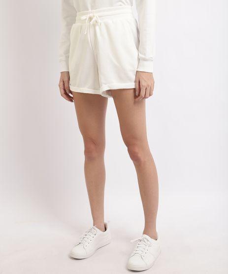 Short-Feminino-Basico-Cintura-Alta-com-Bolsos-Off-White-9950155-Off_White_1