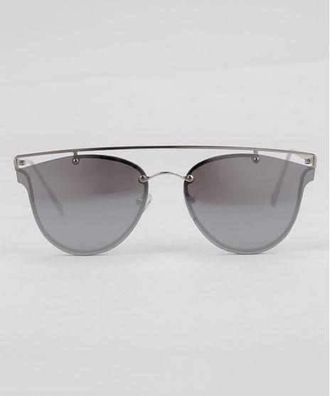 Oculos-de-Sol-Redondo-Espelhado-Feminino-Oneself-Prateado-8759604-Prateado_1