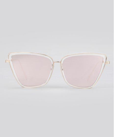 Oculos-de-Sol-Quadrado-Espelhado-Feminino-Oneself-Dourado-8759637-Dourado_1