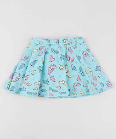 Short-Saia-Infantil-Estampado-de-Borboletas-com-Laco-e-Glitter-Azul-9954168-Azul_1