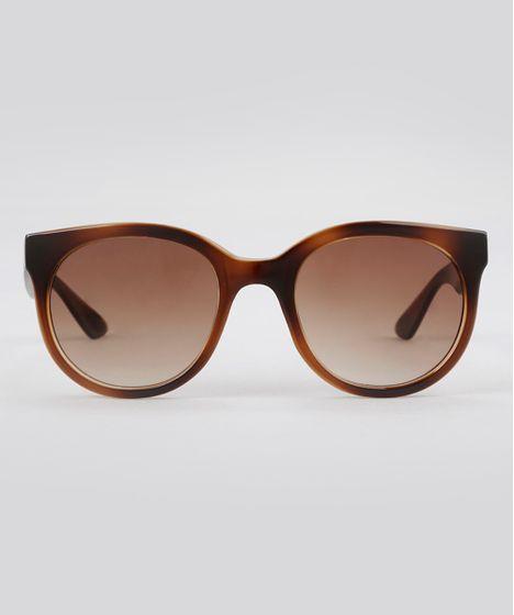 Oculos-de-Sol-Redondo-Feminino-Oneself-Tartaruga-8388834- ... 35146a6c83