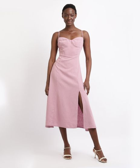 Vestido-Feminino-Mindset-Midi-com-Fenda-Alca-Fina-Decote-Princesa-Rose-9963118-Rose_1