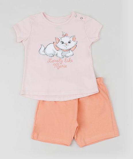 Conjunto-Infantil-Marie-de-Blusa-Manga-Curta---Short-Rosa-Claro-9951741-Rosa_Claro_1