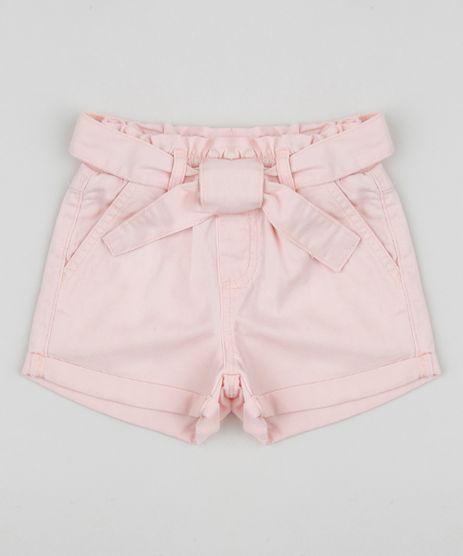 Short-de-Sarja-Infantil-Clochard-com-Bolsos-Rosa-Claro-9959396-Rosa_Claro_1