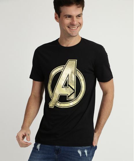 Camiseta-Masculina-Avengers-Manga-Curta-Gola-Careca--Preta-9955461-Preto_1