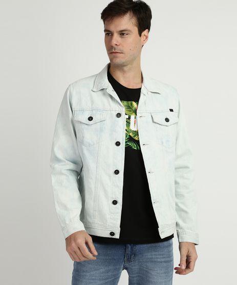 Jaqueta-Jeans-Masculina-Trucker-Estampada-Tie-Dye-com-Bolsos-Azul-9960855-Azul_1