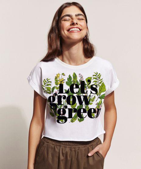 Blusa-Feminina-Cropped--Let-s-grow-green--Manga-Curta-Off-White-9960026-Off_White_1