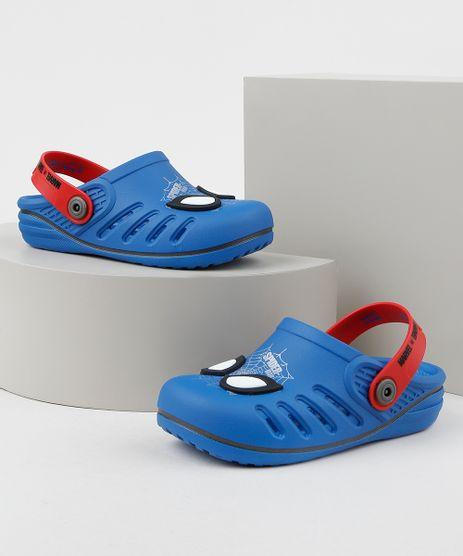Babuche-Infantil-Grendene-Homem-Aranha-Azul-9957809-Azul_1
