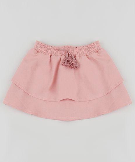 Saia-com-Linho-Infantil-com-Camadas-com-Cordao-Rosa-9953578-Rosa_1