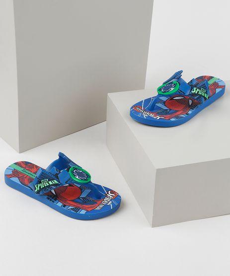 Chinelo-Infantil-Ipanema-Homem-Aranha-Estampado-Azul-9954707-Azul_1