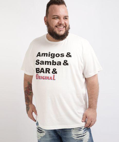 Camiseta-Masculina-Plus-Size-Original-Manga-Curta-Gola-Careca-Branca-9961789-Branco_1