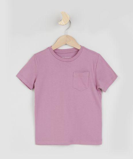 Camiseta-Infantil-Basica-com-Bolso-Manga-Curta-Roxa-9961427-Roxo_1