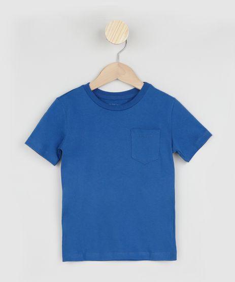 Camiseta-Infantil-Basica-com-Bolso-Manga-Curta-Azul-Royal-9961430-Azul_Royal_1