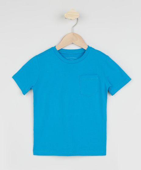 Camiseta-Infantil-Basica-com-Bolso-Manga-Curta-Azul-9961431-Azul_1