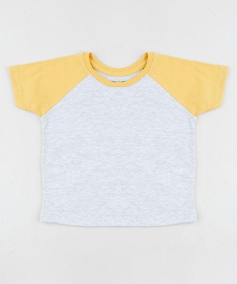 Camiseta-Infantil-Basica-Raglan-Manga-Curta-Amarela-9961506-Amarelo_1
