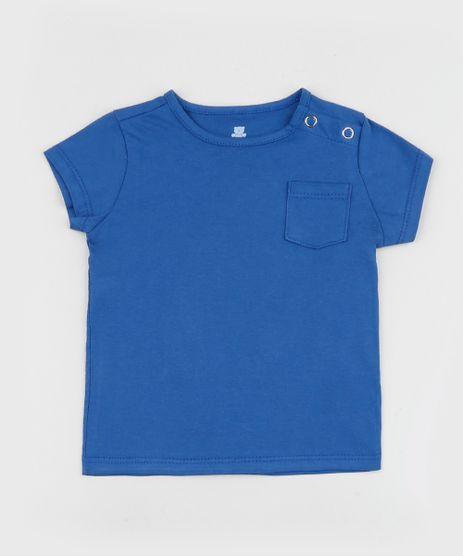 Camiseta-Infantil-Basica-com-Bolso-Manga-Curta-Azul-Royal-9961886-Azul_Royal_1