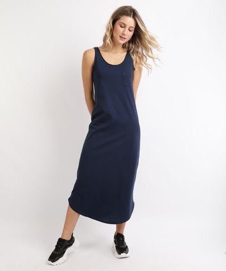 Vestido-Feminino-Basico-Longo-com-Bolso-Alcas-Media-Azul-Marinho-9949294-Azul_Marinho_1
