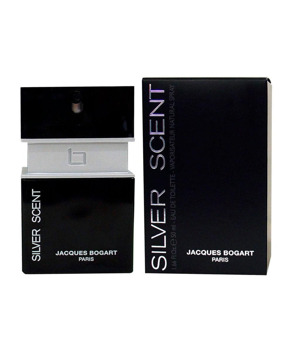 Perfume Silver Scent Homme Jacques Bogart Masculino Eau de Toilette 50ml Único