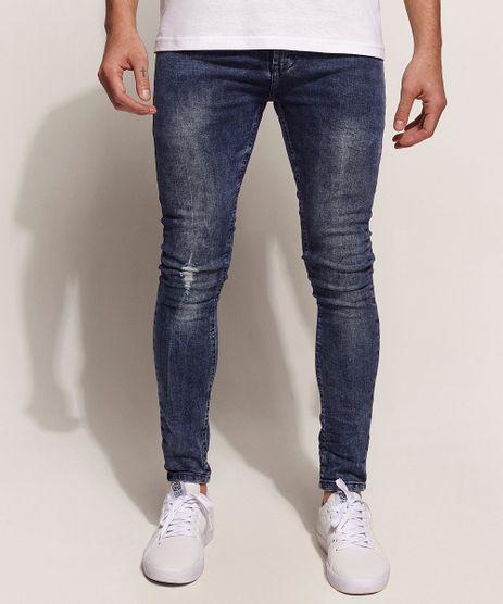Calca-Jeans-Masculina-Super-Skinny-Azul-Escuro-9946170-Azul_Escuro_1