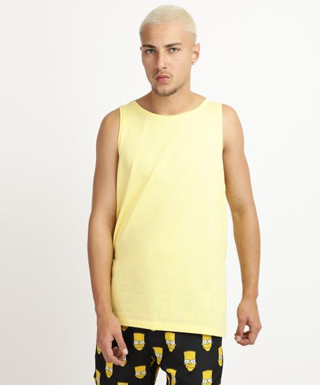 Regata-Masculina-Basica-Amarelo-Claro-8473233-Amarelo_Claro_1
