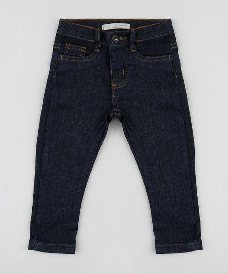 Calca-Jeans-Infantil-Slim-com-Bolsos--Azul-Marinho-9949485-Azul_Marinho_1
