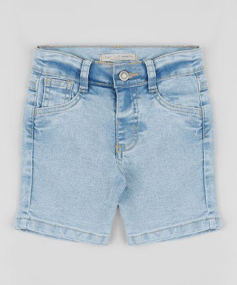 Bermmuda-Jeans-Infantil-com-Bolso-Azul-9949488-Azul_1