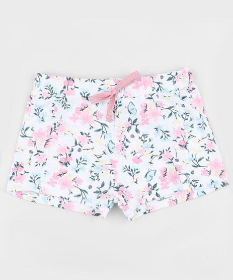 Short-Infantil-Estampado-Floral-Multicor-9952734-Multicor_1