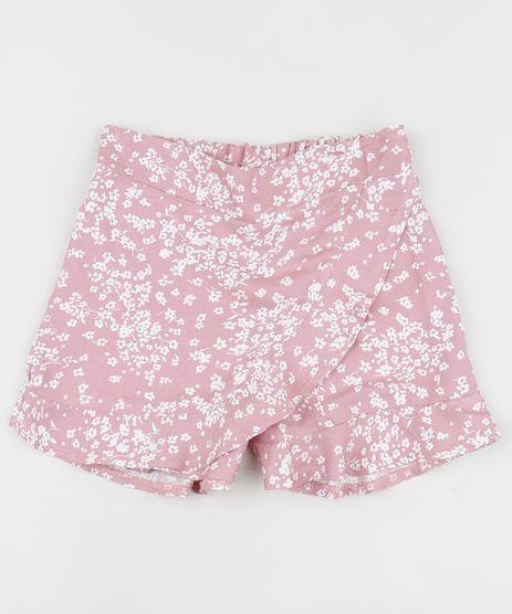 Short-Saia-Infantil-Estampada-Floral-Rosa-9963618-Rosa_1