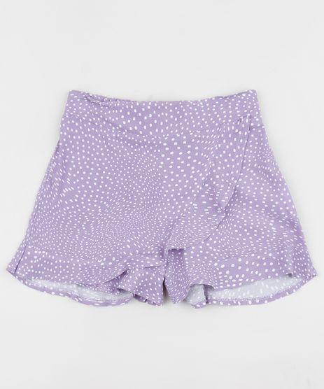 Short-Saia-Infantil-Estampado-de-Poa--Lilas-9963620-Lilas_1