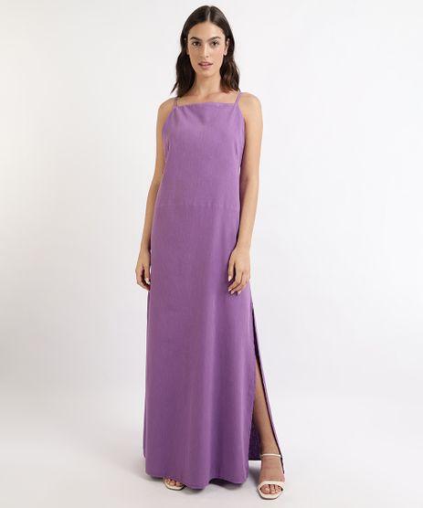 Vestido-Feminino-Mindset-Longo-Halter-Neck-com-Fenda-e-Vazado-Roxo-9964423-Roxo_1