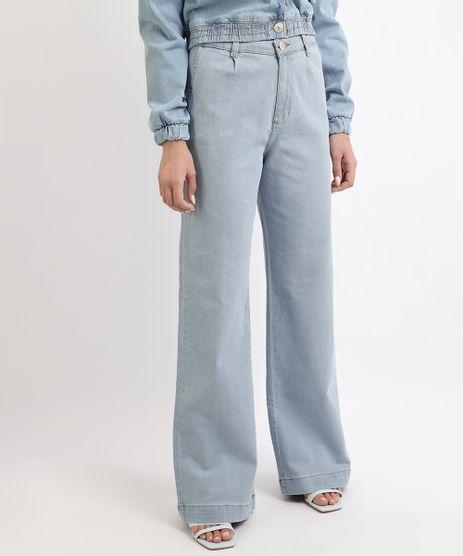 Calca-Jeans-Feminina-Mindset-Reta-Wide-Cintura-Alta-Azul-Claro-9963210-Azul_Claro_1