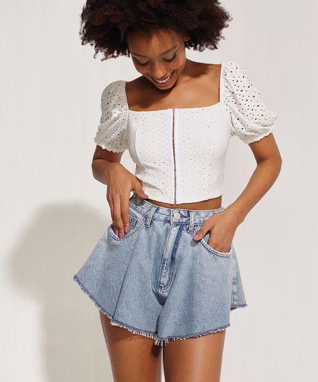 Short-Jeans-Feminino-Amplo-Cintura-Super-Alta-Azul-Medio-9966623-Azul_Medio_1