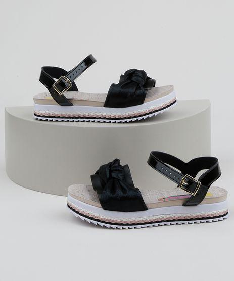 Sandalia-Infantil-Molekinha-Flatform-com-Laco-Preta-9962893-Preto_1
