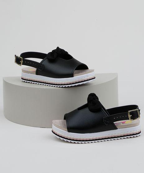 Sandalia-Infantil-Molekinha-Flatform-com-Laco-Preta-9962894-Preto_1
