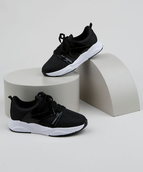 Tenis-Infantil-Molekinha-Sneaker-Chunky-Knit-Preto-9962898-Preto_1