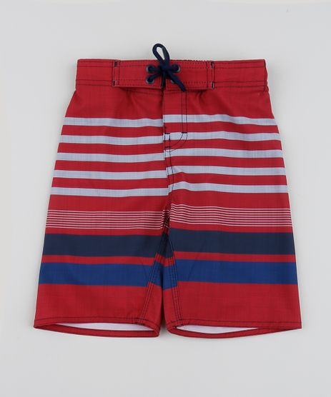 Bermuda-Surf-Infantil-Listrada-com-Cordao-Vermelha-9954492-Vermelho_1