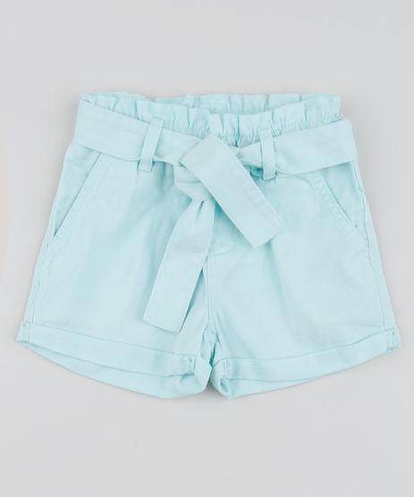 Short-de-Sarja-Infantil-Clochard-com-Faixa-para-Amarrar-Verde-Claro-9959397-Verde_Claro_1